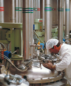 A food processing facility in the USA