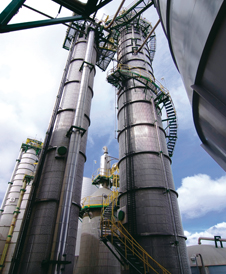 A pulp mill operation in Chile
