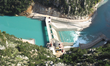 Dafnosonara hydropower plant, Greece