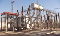 Main transformer and switchgear of hydropower plant