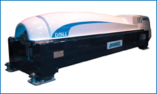 The D5LLTC decanter centrifuge. Industrial technology adapted to the treatment of wastewater sludge.