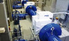 Stave hydropower plant, Canada