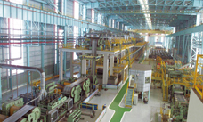 Hot annealing and pickling line (HAPL), furnace exit and scale breaker