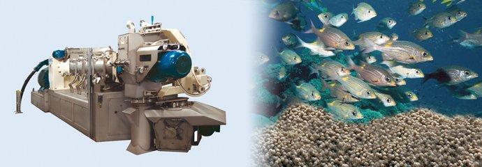 ANDRITZ aqua feed processing technologies