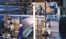 Sludge screw presses SCS