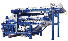 Heavy duty belt press CPF, advanced CPF technology for high-performance dewatering