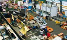 Manufacturing works in Kriens, Switzerland