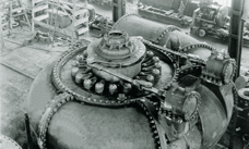 Francis spiral case at the hydropower plant Niagara Falls, USA