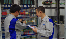 Service technicians from ANDRITZ Wuxi