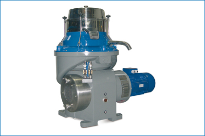 Separator for olive oil processing