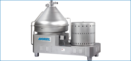 ANDRITZ Frautech separator for dairy processing