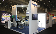 Stand at the REWA-Fair in Cape Town, South Africa