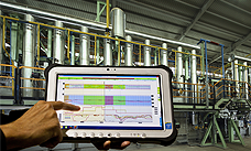 Smart tablet for on-site visualization