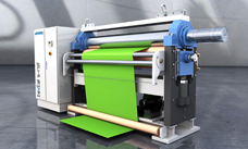 teXcal s-roll - the all-rounder in textile calendering