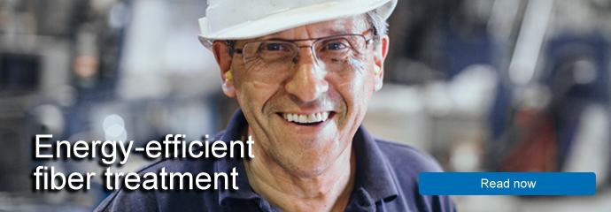 Energy-efficient fiber treatment