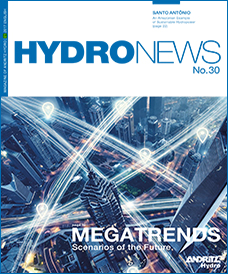 Cover of Hydro News 30 - Megatrends